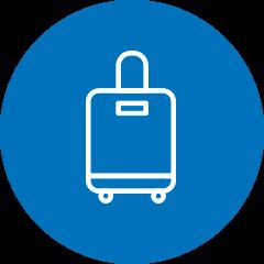 Borse e accessori per valigie rigide